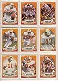 Tampa Bay Buccaneers 1990 Fleer Football Team Set w/ Update Cards ***Premier Issue***(18 Cards) (Vinny Testaverde) (Broderick Thomas) (Mark Carrier)