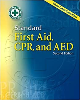 Standard First Aid, CPR and AED [With Booklet]