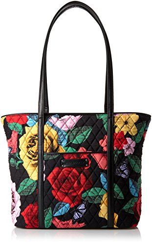 Vera Bradley Small Trimmed, Havana Rose Black