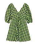 Ganni Luxury Fashion Womens Dress Winter Green