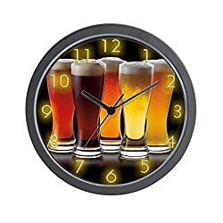 CafePress - Cold Beers - Unique Decorative 10 Wall Clock