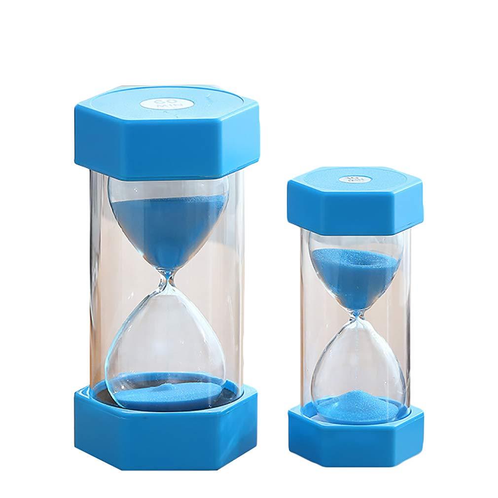Lefu Hourglass Sand Timer Decoración de Oficina 5 Minutos + 10 Minutos