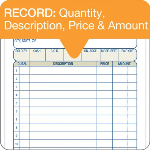 Custom Invoice Printing Word Amazoncom  Adams Sales Order Book Part Carbonless  X  Cash Received Receipt Excel with Pay A Fedex Invoice Pdf Amazoncom  Adams Sales Order Book Part Carbonless  X   Inch  Sets White Canary And Pink Tc  Blank Receipt Forms   Office  Acknowledgement Receipt Of Payment Template Pdf