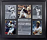 """Pittsburgh Pirates Roberto Clemente """"ARRIBA"""" Photo Collage Display (SGA Signature Engraved Plate Series) Framed"""