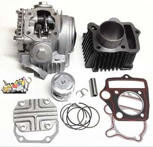 amazoncom cylinder rebuild engine kit honda atc crf ct trx xr  cc key chain