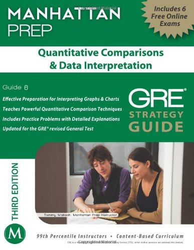 Quantitative Comparisons & Data Interpretation GRE Strategy Guide, 3rd Edition (Manhattan Instructional Guides)