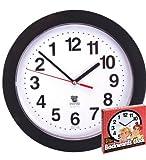 10 Inch Backward Clock - 10 Inch Backward Clock For Prank Or Prop