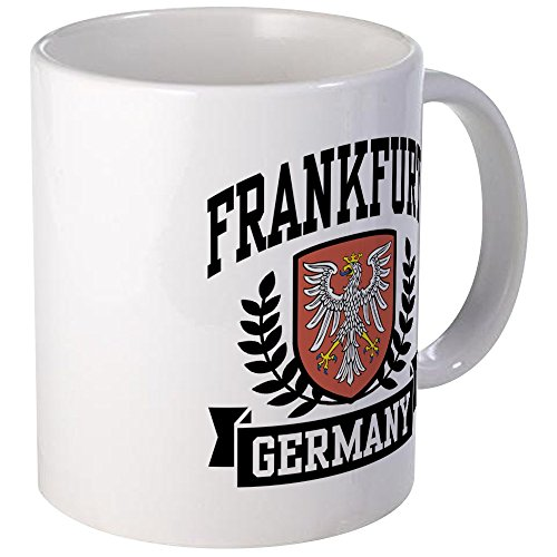 CafePress - Frankfurt Germany Mug - Unique Coffee Mug, Coffee ()