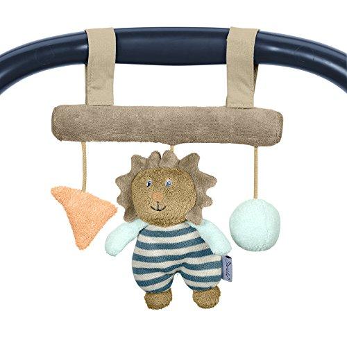 Sterntaler 6601623 - Spielzeug zum Aufhängen Leo, braun/türkis/mint/grau