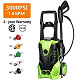 Best Electric Power Washers - Homdox 3000 PSI Electric Pressure Washer Power Washer Review