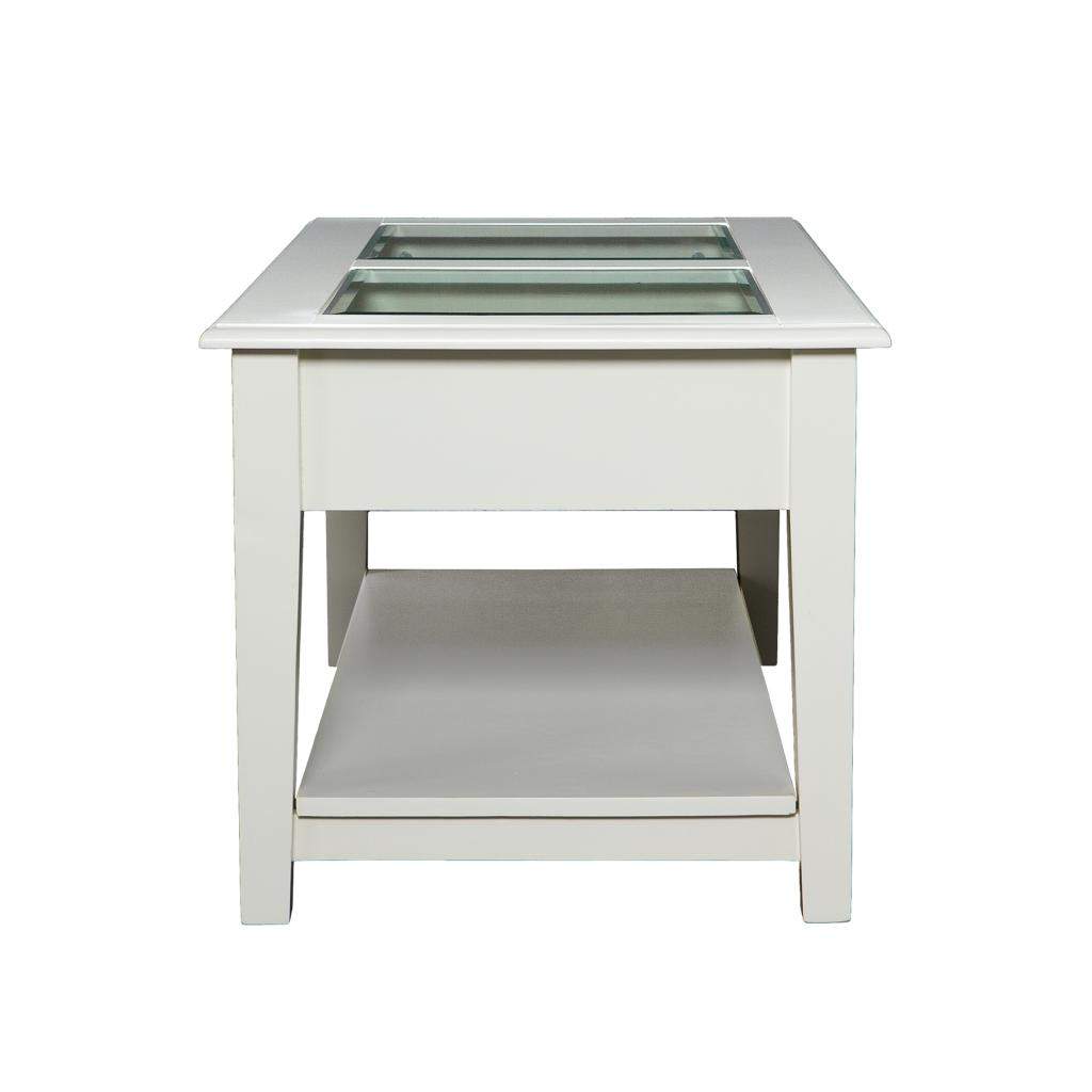 Southern enterprises valley cocktail table for Coffee tables on amazon