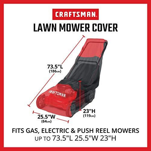 Craftsman Walk Behind Lawn Mower Cover