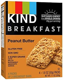 product image for Kind, Breakfast Bars, Peanut Butter, 8 bars per box ( 2 PACK)
