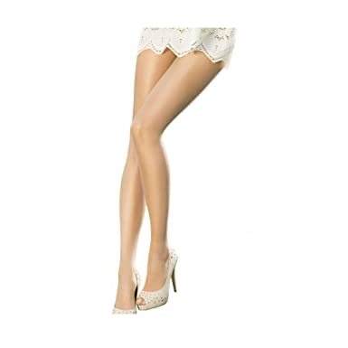 60811cb7b68 Pretty Polly Naturals Sandal Toe Tights - Barely There M L  Amazon.co.uk   Clothing