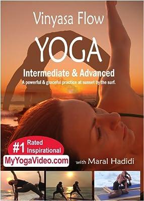 Vinyasa Flow Yoga, Grace, Power, Surf, and Sunset, Intermediate & Advanced, a ***Practice DVD***