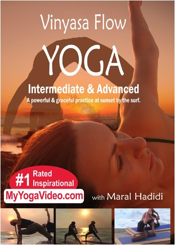 Vinyasa Flow Yoga, Grace, Power, Surf, and Sunset, Intermediate & Advanced, a ***Practice DVD*** (Vinyasa Yoga Advanced compare prices)