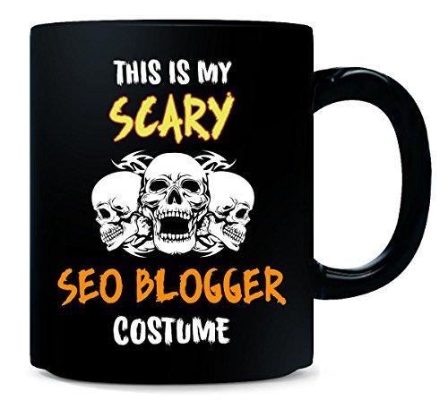 This Is My Scary Seo Blogger Costume Halloween Gift - Mug -