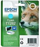 Epson T1282 Zorro - Cartucho de tinta, color cian