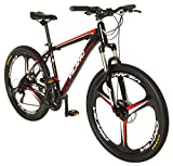 "Vilano 26"" Mountain Bike Ridge 2.0 MTB 21 Speed with Disc Brakes"