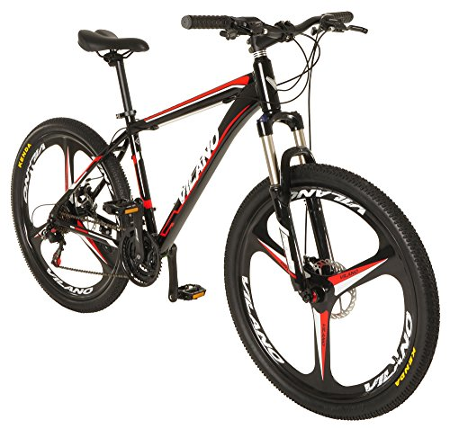 Vilano 26' Mountain Bike Ridge 2.0 MTB 21 Speed with Disc Brakes