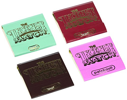 The Incense Match Assorted 4 Pack (Randomly Pick)