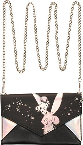 (Bioworld Disney Tinkerbell Envelope Wallet wtih Chain)