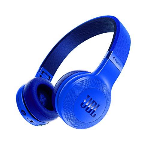 JBL E45BTBLU On-Ear Wireless Headphones, Blue