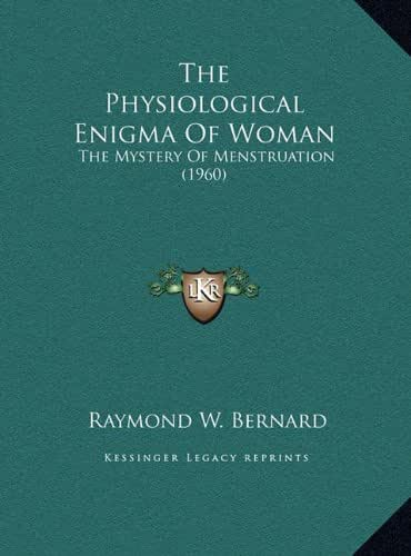 The Physiological Enigma Of Woman: The Mystery Of Menstruation (1960)