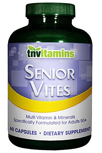Total Nutrition Senior Vites Multivitamins For 50+ Adults - 60 (Royal Jelly 50 Capsules)