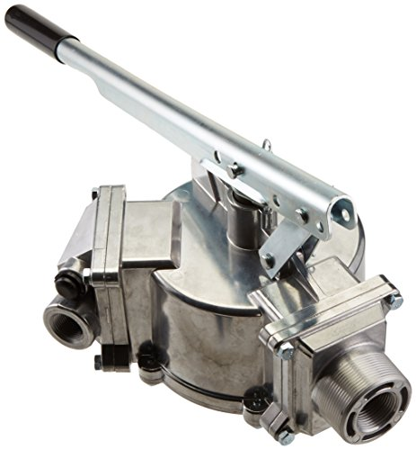 GPI 114000-5 Aluminum HP-100-NUL Hand Pump, 50 Gallons per 100 Strokes, 3/4'' Diameter 8' Hose by GPI® The Proven Choice® (Image #1)