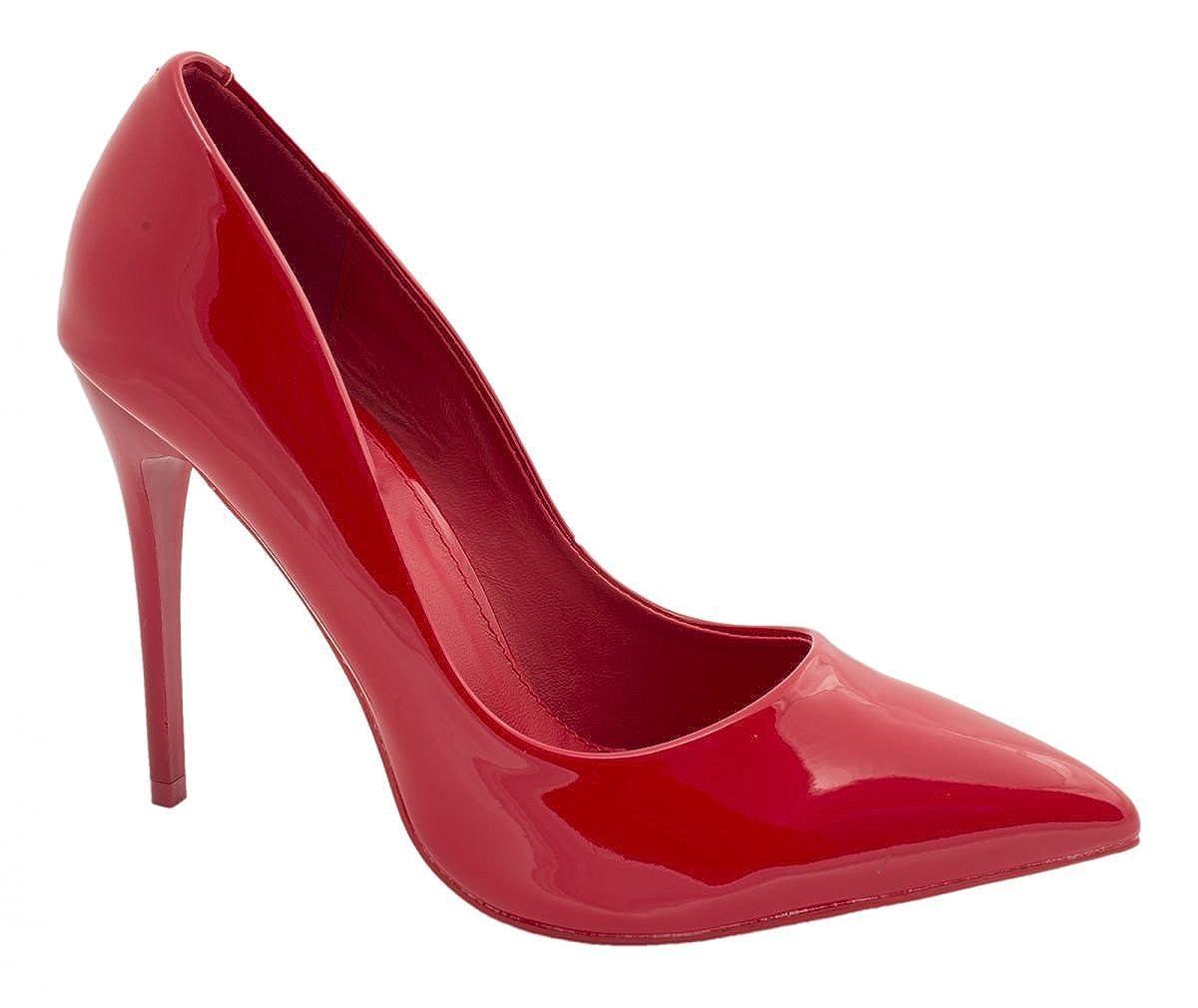 Elara punta tacco | Comodo di Stilettos | Elegante High HeelsRot Pearl