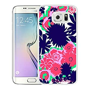 Lilly Pulitzer 32 White Samsung Galaxy S6 Edge Cover Case Durable And Unique Custom Designed