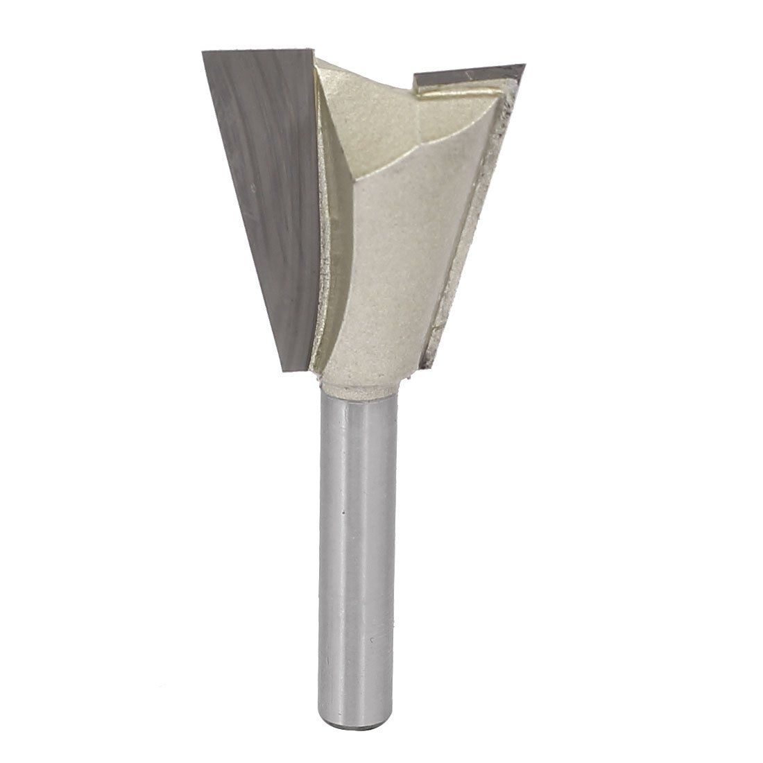uxcell 1/4-inch Round Shank 1-inch Cutting Dia Woodwork Dovetail Router Bit