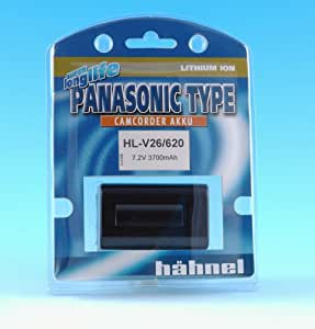 Hähnel HL-V26/620 - Batería Li-Ion para Panasonic CGA-V26/620, 7.2V, 4000mAh++