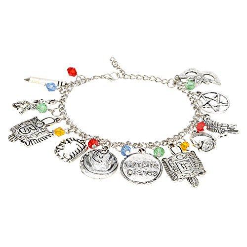 Accessorisingg Vampire Diaries Multi Charm Bracelet [BR101]
