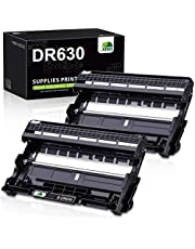 JARBO Compatible Drum Unit Replacement for Brother DR630 DR-630 DR 630 for HL-L2300D HL-L2320D HL-L2340DW HL-L2380DW MFC-L2700DW MFC-L2740DW MFC-L2720DW DCP-L2540DW DCP-L2520DW (2 Pack) photo