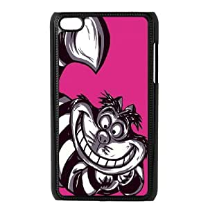Cheshire cat pattern Pattern Hard Shell Phone Case For For ipod Touch 4 Case FKGZ511569