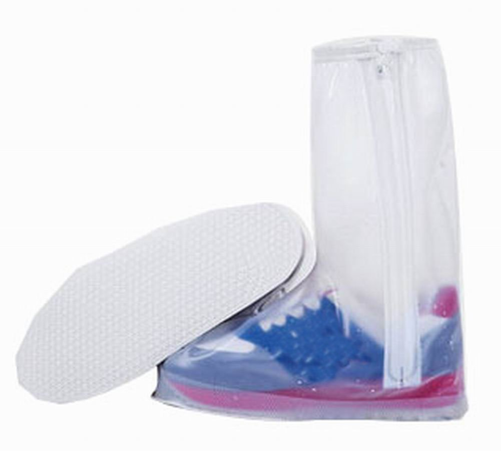 Blancho Practical Waterproof Shoe Covers Rain Shoe Covers Protector, White Blancho Bedding