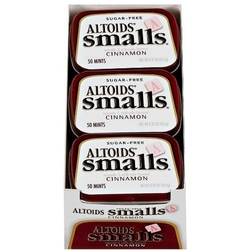 Altoids -Smalls- Cinnamon Pack of 9 by N A Foods