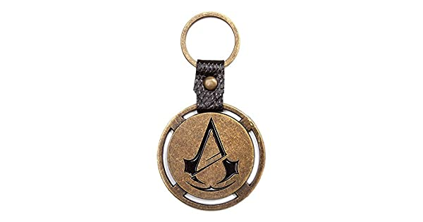 Assassins Creed Unity: Metal Crest Keyring (Electronic Games ...