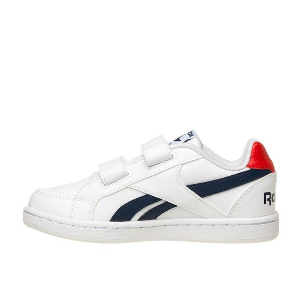 Alt Royales Prime Chaussures Reebok Bébé Premiers Pas Unisexe Blanc / Rose (blanc / Rose Sans Peur), 22,5 Eu