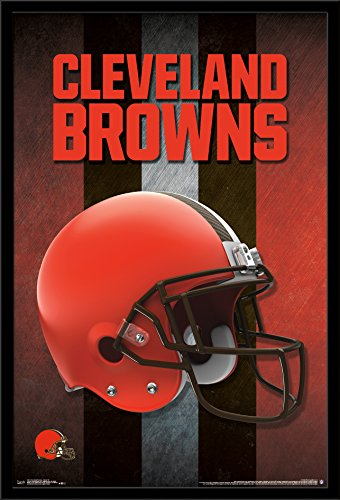 Trends International Wall Poster Cleveland Browns Helmet, 22.375 x 34