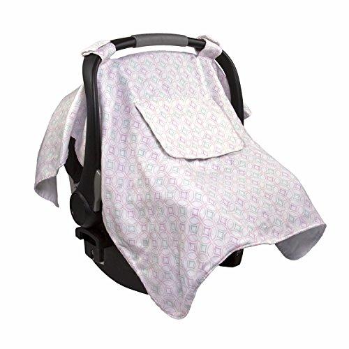 Summer Infant Muslin Little Looks Car Seat Cover, Medallion ()