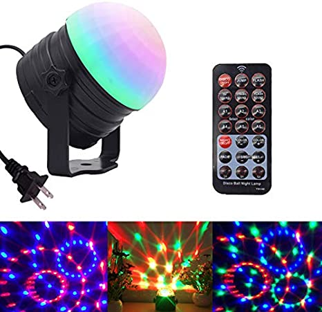 "Large Rotating 6/"" Disco Ball DJ Party Stage Club Pub Disco Xmas Christmas Light"