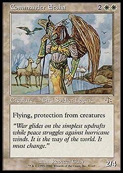 Commander Eesha ~ Judgment ~ Excellent ~ Magic The Gathering