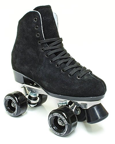 Sure-Grip 1300 Black suede roller skates