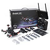 Xiangtat Walkera Runner 250 PRO Quadcopter Drone with Camera 800TVL/ FPV Monitor /OSD/GPS/5.8G Display/ DEVO 7 Transmitter RTF