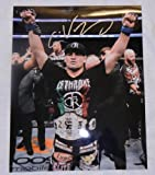 us champion belt - Cain Velasquez Autographed UFC 11x14 Photo W/PROOF, Picture of Cain Signing For Us, UFC, Ultimate Fighting Championship, Heavyweight Champion, Arizona State University Sun Devils, Mixed Martial Arts