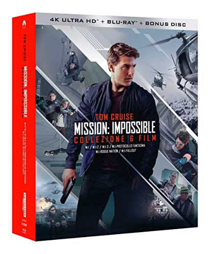 Mission Impossible Collection 6 Blu-Ray 4K Ultra HD+7 Blu-Ray ...