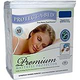 Protect-A-Bed Premium Queen Waterproof Mattress Protector